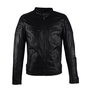 AIM Antrio 4051 heren leren jas zwart 300x300
