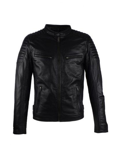 AIM Antrio 4051 heren leren jas zwart