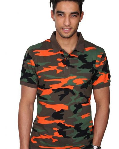 AIRFORCE POLO CAMO-or
