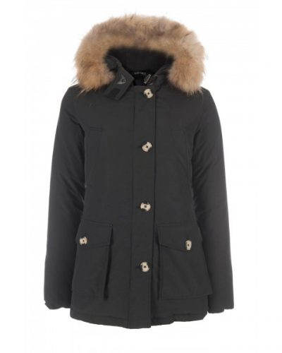 Airforce Dames winterjas 4 pocket classic parka zwart
