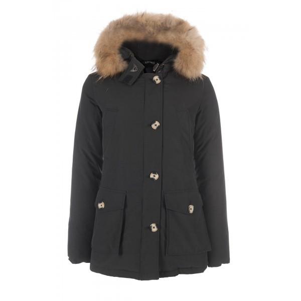 Airforce Dames winterjas 4 pocket classic parka zwart