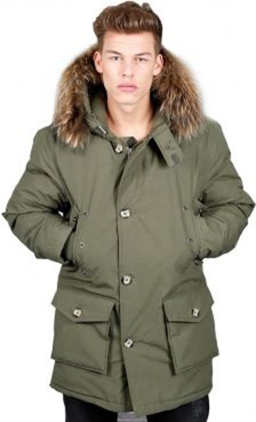 Airforce Heren Winterjas - Classic Parka - Army Green