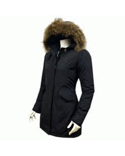 Canada winterjas voor dames met grote bontkraag