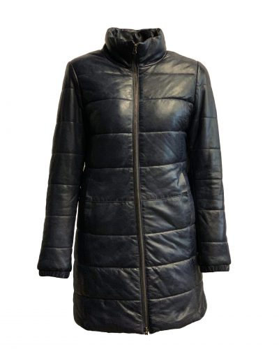 Leren lang jas bomber dames ritato bestellen