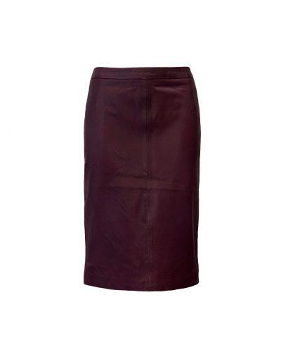 Leren rok cordovan kleur bestellen