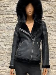 Lammy coat dames met capuchon