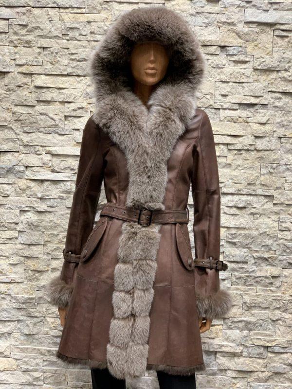 Lammy coat parka dames