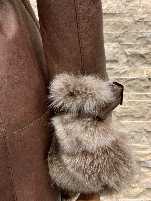 Lammy coat parka dames detail 2