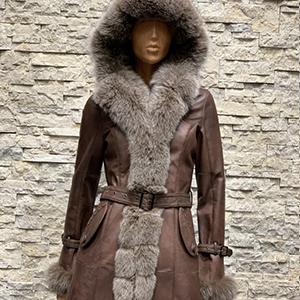 Lammy coat parka dames met bont 300x300