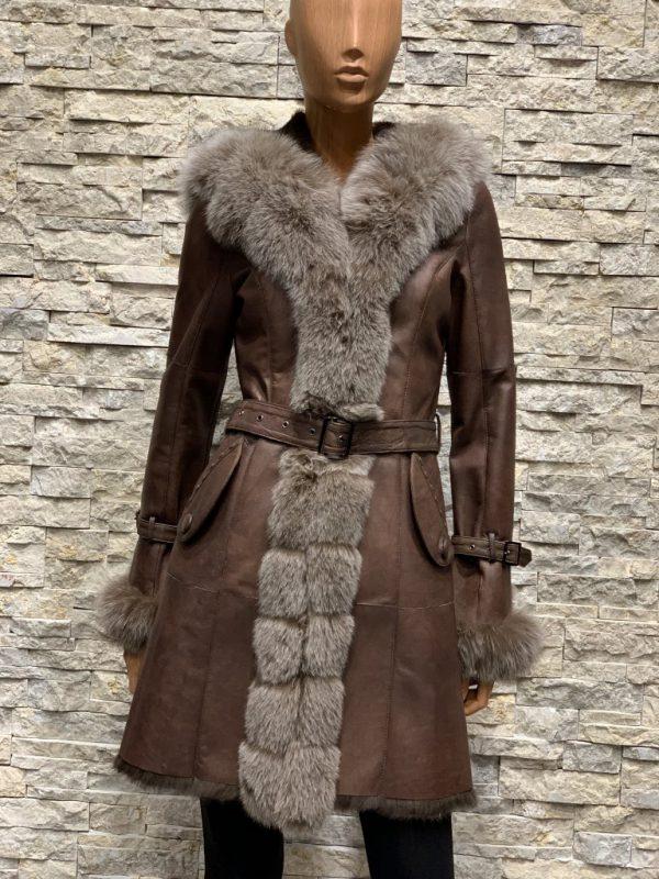Lammy coat parka dames zonder capuchon