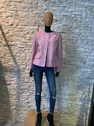 Leren Dames jas roze