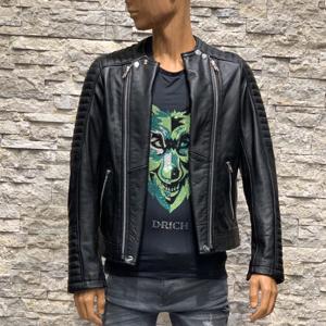 Leren heren biker jas Storo 300x300