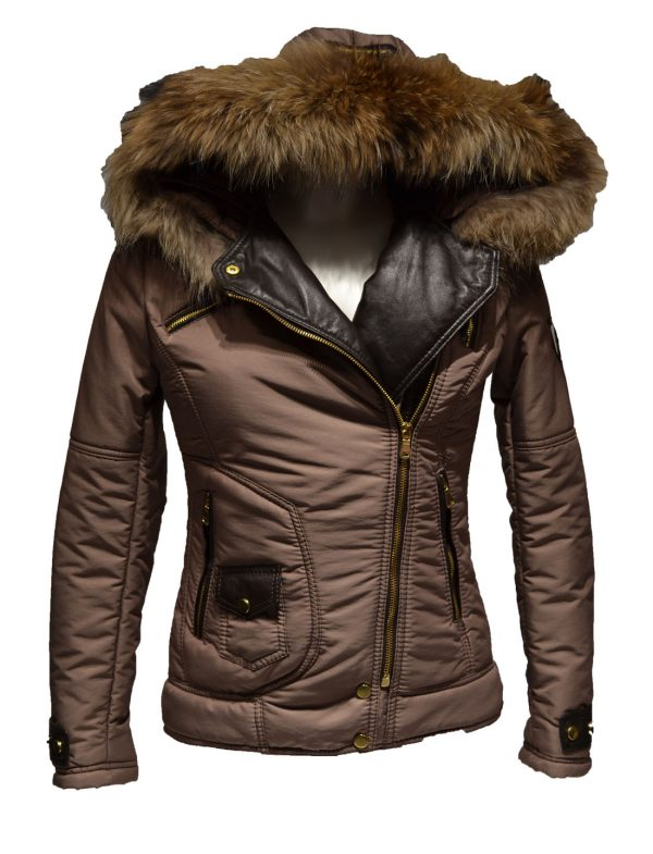 Milan Ferronetti dames winter jas – inclusief bontkraag Venezia
