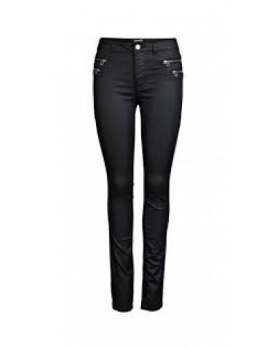 RedSkins leren skinny jeans stretch - 100% echt leren - Leren damesbroek