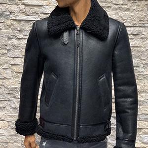 Redskins lammy coat heren zwart 300x300