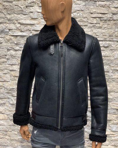 Iconische Redskins Lammy coat heren zwart
