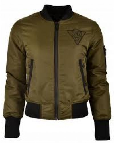Stoere Nickelson 3.0 Dames bomberjack - Radar Army green