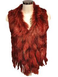 Vest met bont - Lazano