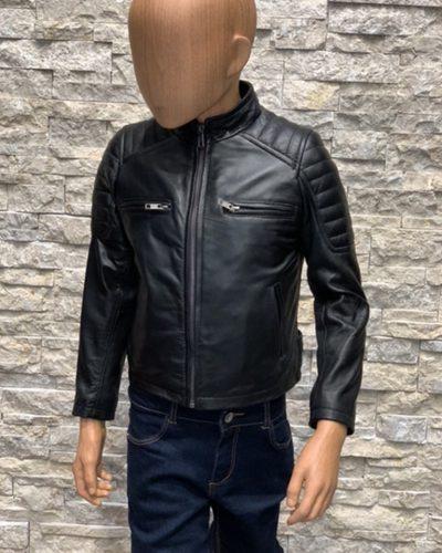 Leren jas biker kinderen DJ bestellen