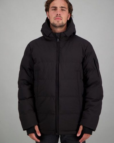 Airforce Mitchell Parka zwart