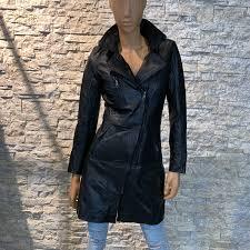 Zomer halflange leren dames jas