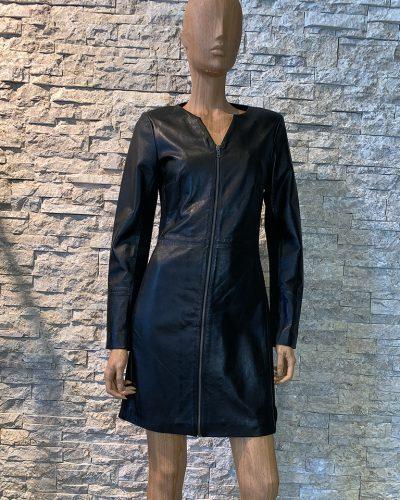 Zwart leren jurk van AIM