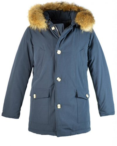 Heren Canadian MEN Parka 4 Pocket donker blauw navy