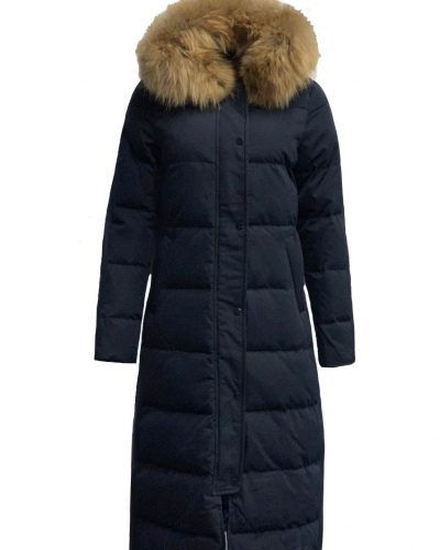 Blauw Lange dames winterjas -Dakata bestellen