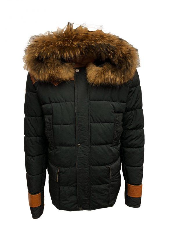 Heren winter jas met bontkraag – pariso bestellen
