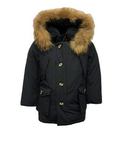 Airforce jongens jas met echtbontkraag 4 pocket blauw bestellen