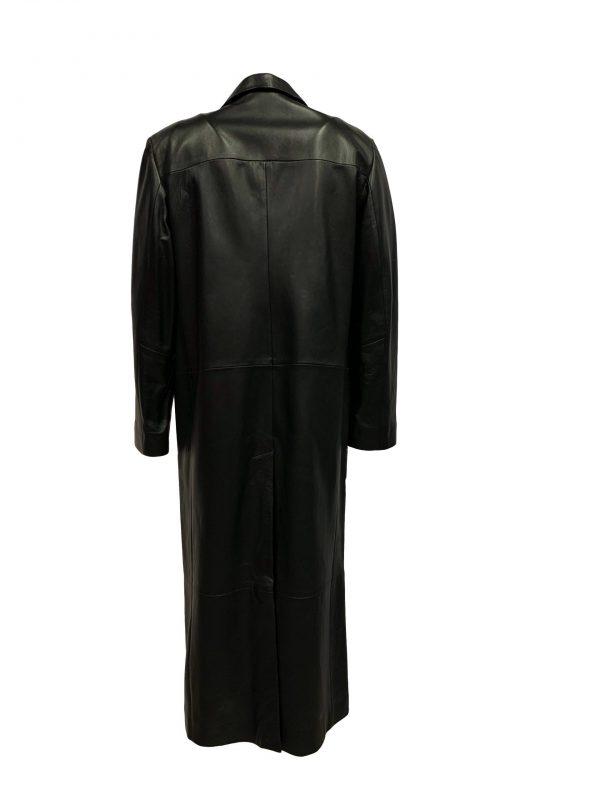 lange leren jas heren zwart-Yorker bestellen