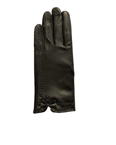 Leren dames handschoenen zwart-almere bestellen
