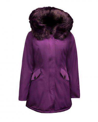 Dames paarse winterjas -Canada bestellen