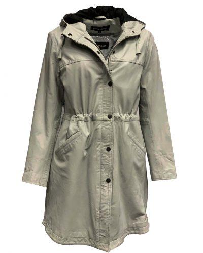Dames jas met capuchon met afneembaar binnen voering cloud-L006 bestellen