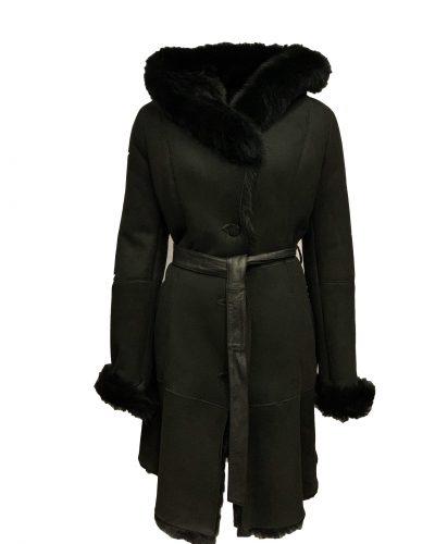Lammy dames coat parka zwart-toskana bestellen
