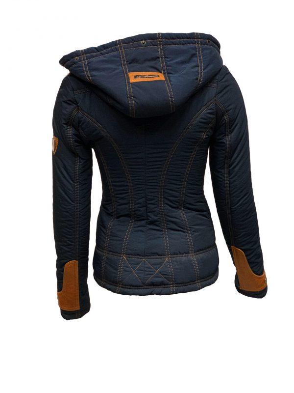 Dames winter jas met bontkraag- layatta bestellen