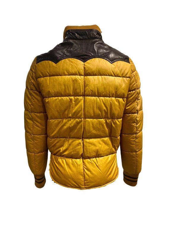 heren bomber jas met bontkraag – okerjack bestellen