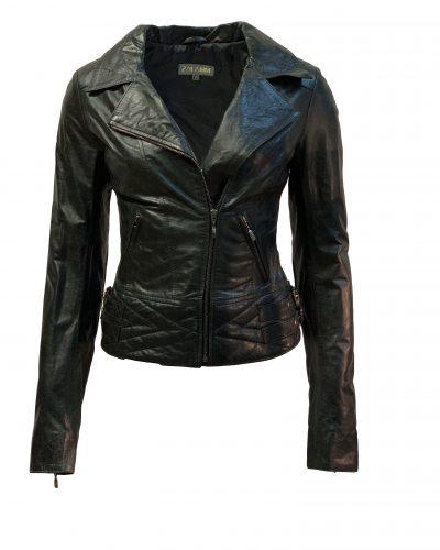 Leren jas dames biker zwart-regatta bestellen