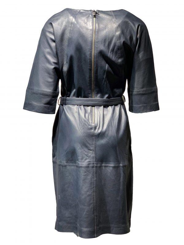 Leren jurk grey – Novaleto bestellen