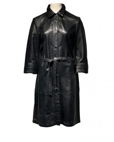 Leren jurk zwart – Kolachi bestellen
